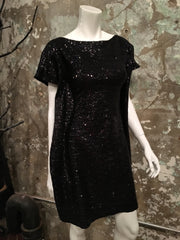 Heartless Revival Black Sequin Dress