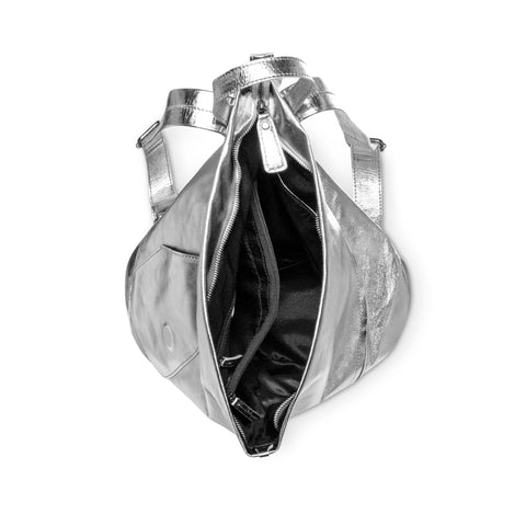 Sticks + Stones Katia Moto Backpack Silver