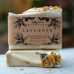 Salty Lemon Apothecary Lavender Soap