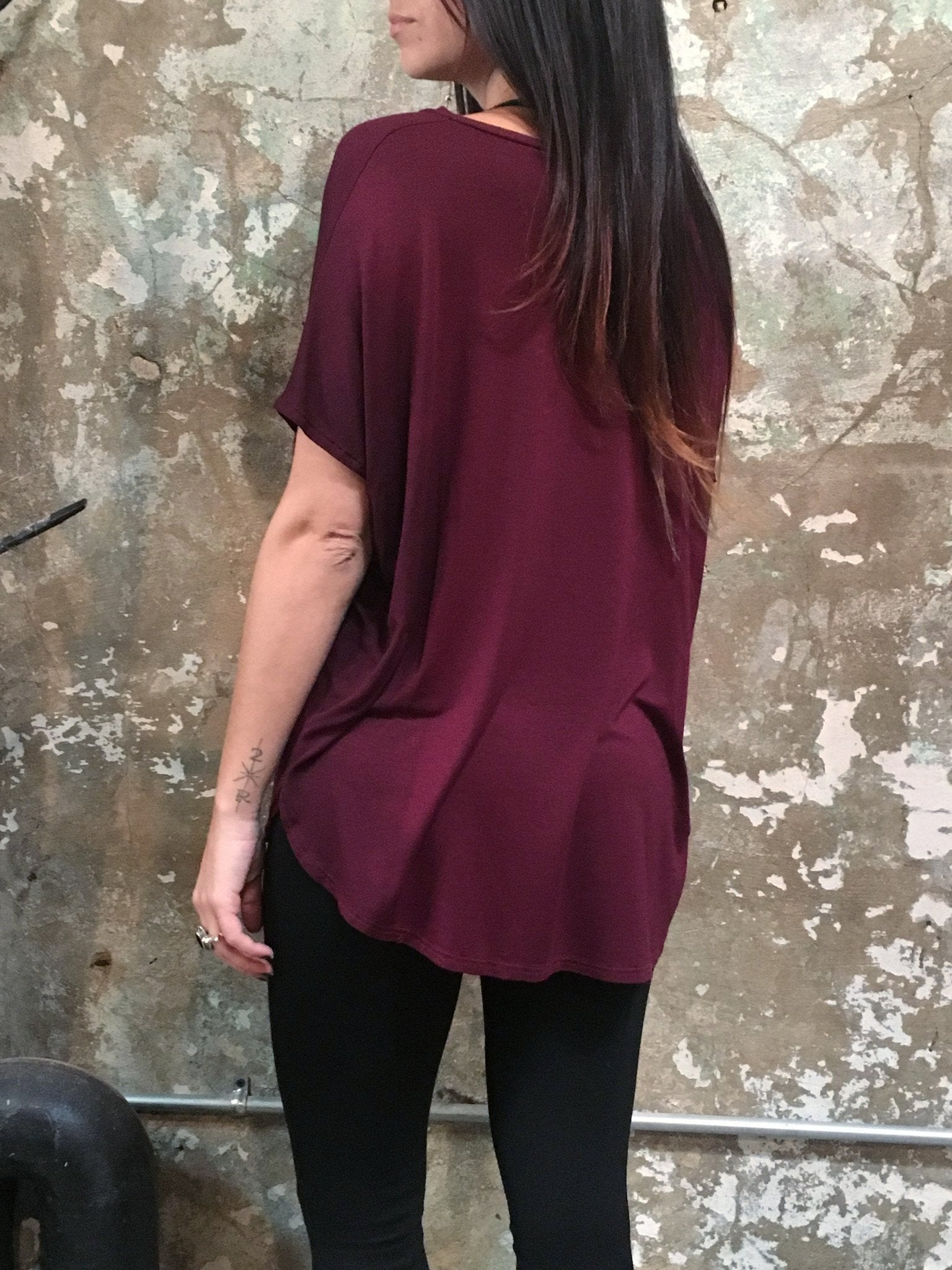 Bianca Rachele Loose Fit V Shirt