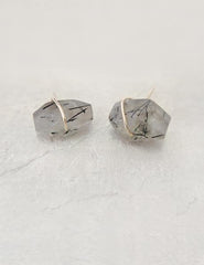 Nuance Rutilated Quartz Studs