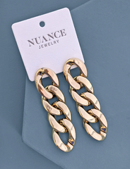 Nuance Large Chain Link Earrings
