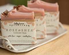 Salty Lemon Apothecary Rose & Shea Soap