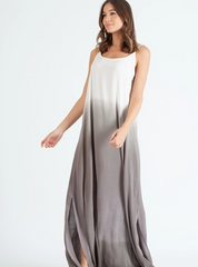 NYTT Cami Ombre Maxi Dip Dye Dress