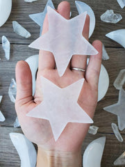 Witch's Way Selenite Star