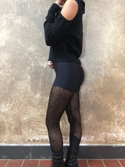 Sophi Reaptress Mesh Spiderweb Leggings