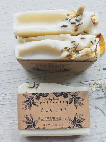 Salty Lemon Apothecary Soothe Soap
