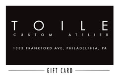 Toile GIFT CARD