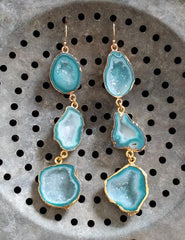 Nuance Tiered Geode Drops