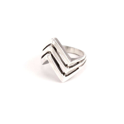 Hiouchi Apex Ring Silver