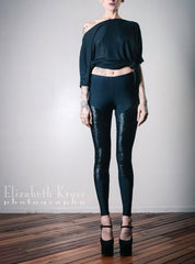 Sophi Reaptress Crushed Velvet Leggings