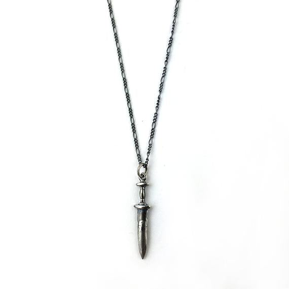 Hellhound Jewelry Dagger Necklace