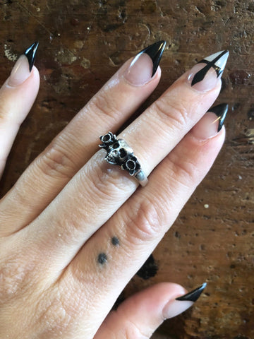 Hellhound Jewelry Reborn Ring in Silver