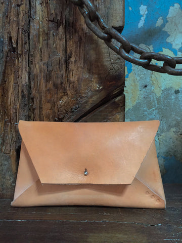 Studio KED Envelope Clutch Tan