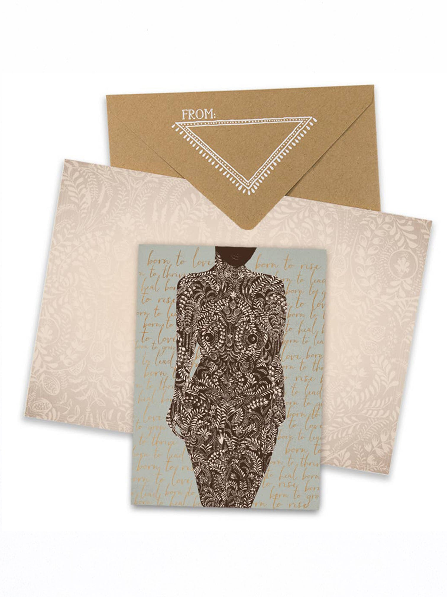 Greeting Card - Living Woman