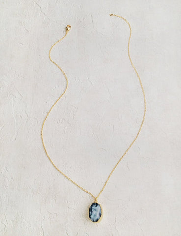 Nuance Mini Geode Necklace | MORE COLOR OPTIONS |