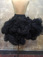 BlckBts Sculpted Tulle Statement Skirt