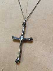 Hellhound Jewelry Abigail Bone Cross