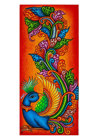 Hand Painted Kerala Mural Painting Design 12