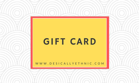 Desically Ethnic Gift Card
