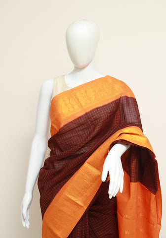Sungudi Saree Design 136