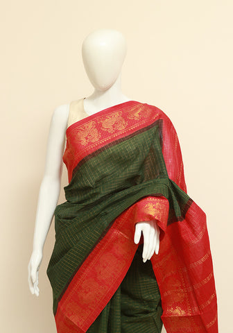 Sungudi Saree Design 27