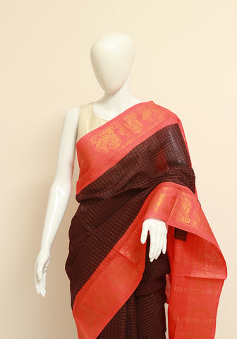 Sungudi Saree Design 28
