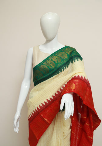 Sungudi Saree Design 157
