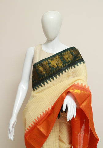 Sungudi Saree Design 158