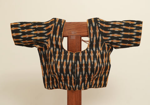 Ikat Ready Made Blouse Design 1