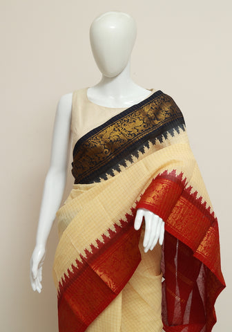 Sungudi Saree Design 159