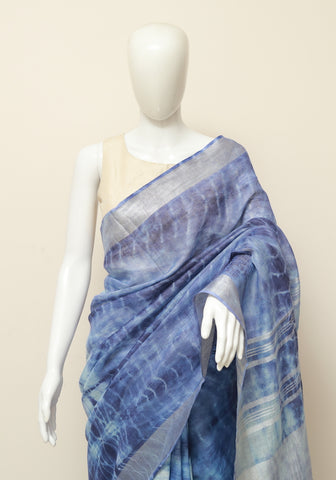 Linen Saree Design 6