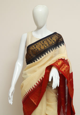 Sungudi Saree Design 160