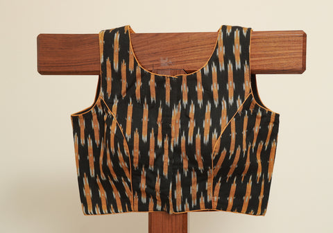 Ikat Ready Made Blouse Design 3