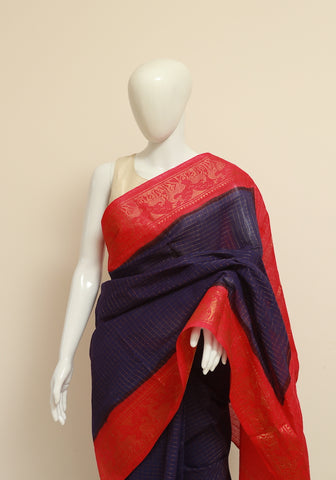 Sungudi Saree Design 33