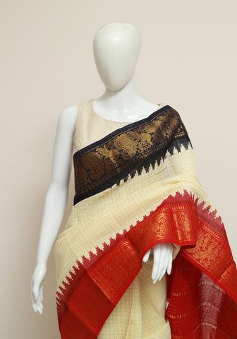 Sungudi Saree Design 161