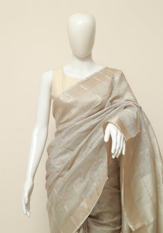Linen Saree Design 9