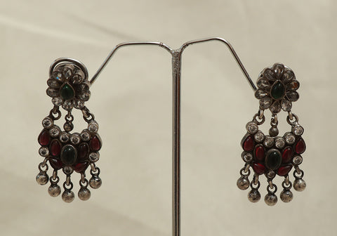 Sterling Silver Chandbali Design 3