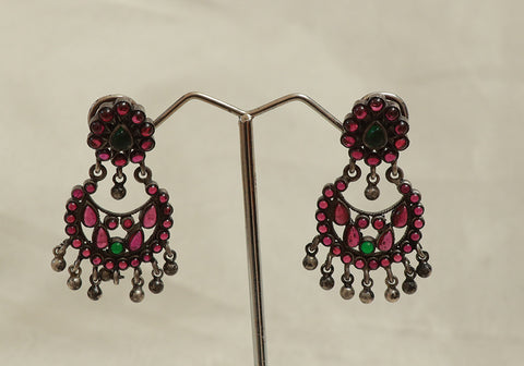 Sterling Silver Chandbali Design 2