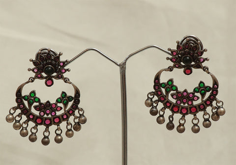 Sterling Silver Chandbali Design 1