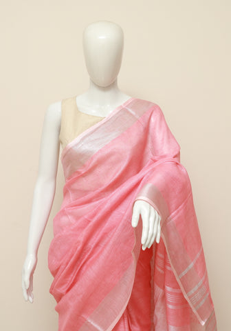 Linen Saree Design 13