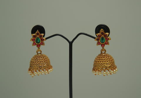 Temple Earrings Design 5