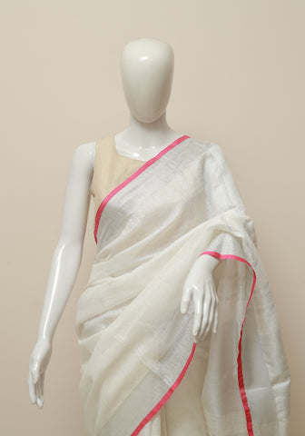 Linen Saree Design 18