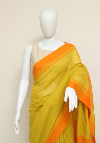 Handloom Cotton Saree Design 37