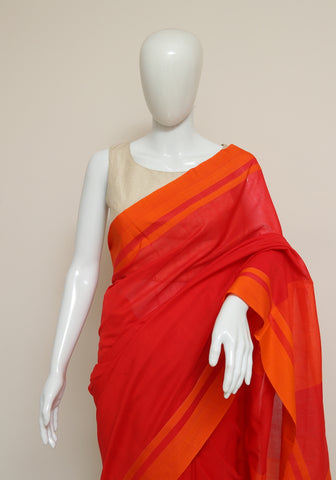 Handloom Cotton Saree Design 38