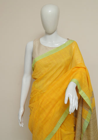 Handloom Cotton Saree Design 51