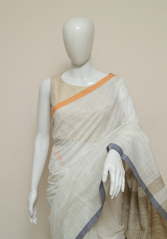 Handloom Cotton Saree Design 52