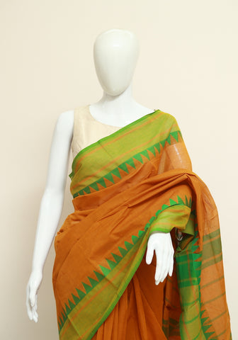 Chettinad Handloom Cotton Saree Design 58