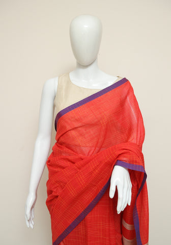 Handloom Cotton Saree Design 54