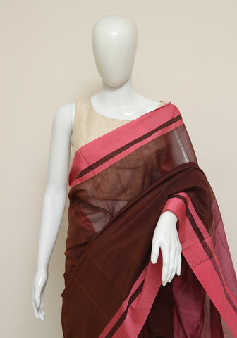 Handloom Cotton Saree Design 40